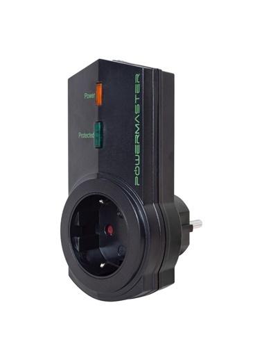 Powermaster Powermaster Teklı Sıyah Akım Korumalı Prız (16A-3500W) Renkli